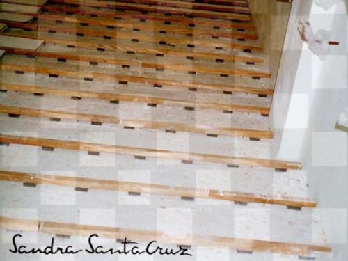 Elastómeros del piso del Centro de Danza con marca de agua